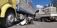 Gebzede trafik kazası: 1 yaralı