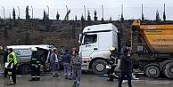 Gebzede trafik kazası: 4 ölü 2yaralı