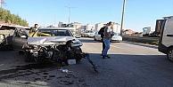 Gebzede trafik kazası