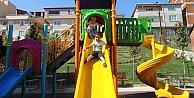 Gebzeli çocukların parklarda oyun keyfi
