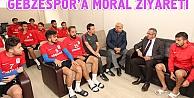 Gebzespora moral ziyareti