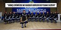 """GENÇLERİMİZLE NE KADAR GURUR DUYSANIZ AZDIR"""""""