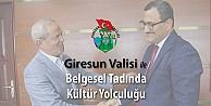 Giresun Valisi ile Belgesel Tadında Kültür Yolculuğu