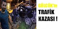 Gölcükte Trafik Kazası !