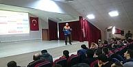 Güvenlikl görevlilerine Afed bilinci eğitimi