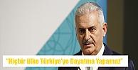 ''Hiçbir ülke Türkiye'ye Dayatma Yapamaz''