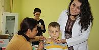 Hisarda aşı günü