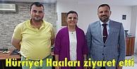 Hürriyet Hacıları ziyaret etti