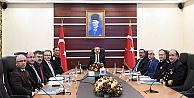 İl Güvenlik Ve Asayiş Koordinasyon Toplantısı Sayın Valimizin Başkanlığında Gerçekleştirildi.