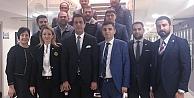 İMO Başkanı Okdan yeni baro başkanına ziyaret