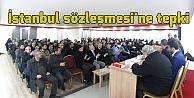İstanbul sözleşmesine tepki
