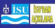 İSUdan su kesintisi açıklaması
