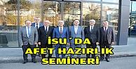 İSUDA AFET HAZIRLIK SEMİNERİ