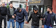 işyerlerinde hırsızlık iddasıyla 5 kişi tutuklandı