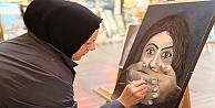 Kadına şiddet resimlere yansıdı