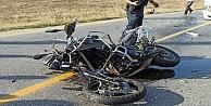 Kandıradaki feci kazada otomobille çarpışan motosikletin sürücüsü öldü