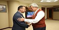 Karaosmanoğlu, Başsavcı Korkmazı konuk etti