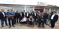 Karaosmanoğlu, Dilovasında ziyaretlerde bulundu
