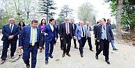 Karaosmanoğlu projeleri yerinde denetledi