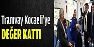 Karaosmanoğlu: Tramvay Kocaeliye değer kattı