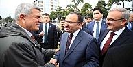 Karaosmanoğlu ve Bozdağ'dan Samimi Görüntüler