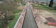 Kartepe Bağdat Caddesinde asfalt serimine başlandı
