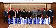 Kocaeli, KAI Vakfı Genel Başkanı Valimizi Ziyaret etti.