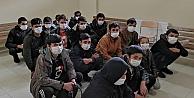 Kocaelide 16 sığınmacı yakalandı