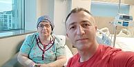 Kocaelide böbrek yetmezliği tedavisi gören anne, oğlundan yapılan nakille sağlığına kavuştu