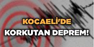 Kocaelide korkutan deprem!