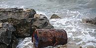 Kocaelide sahile vuran varilde inceleme başlatıldı