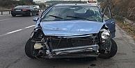 Kocaelide Trafik Kazası: 2 yaralı