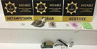Kocaelide uyuşturucu operasyonunda yakalanan 5 şüpheli tutuklandı