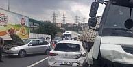 Kocaelide zincirleme trafik kazası: 3 yaralı