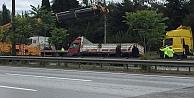 Gebzede zincirleme trafik kazasında 3 kişi yaralandı