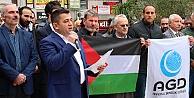 Kocaeliden İsraile protesto
