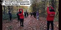 Kocaelinin Şampiyonları Teknik Gelişim Kampında
