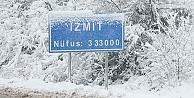 Kocaeliye kar geliyor