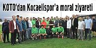 KOTOdan Kocaelispora moral ziyareti