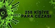 Kovit-19 denetimlerinde 234 kişiye para cezası
