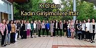 KTO'dan Kadın Girişimcilere İftar