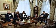 Kuzey Makedonyalı Bakan Hasan#39;dan Kocaeli Valiliğine ziyaret