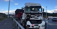 Kuzey Marmara Otoyolunda otomobil ile tırın çarpışması sonucu 1 kişi öldü