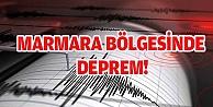 MARMARA BÖLGESİNDE DEPREM!