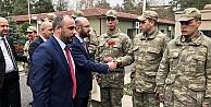 Mehmetçiğe destek ziyareti