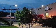 Metal işleme fabrikasında çıkan yangın söndürüldü