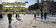 Marmara Yarıyılda Sıcak Olacak
