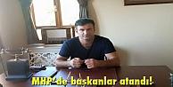MHPde başkanlar atandı!