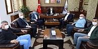 Milletvekili Şeker ve Yıldırımdan Başkan Şayire ziyaret