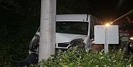 Minibüs Kaza Yaptı: 15 Yaralı
